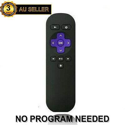 AU12.99 • Buy AU Replacement Remote Control For ROKU 1 2 3 4 LT HD Telstra TV 1, Telstra TV 2