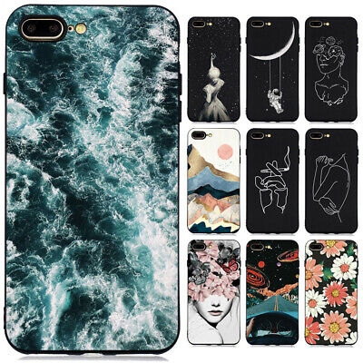 AU4.76 • Buy For Iphone 11 Pro Max X 7 6 Slim Soft Silicone Shockproof Painted TPU Case Cover