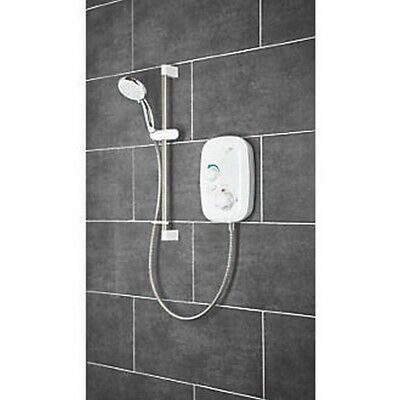 £314.99 • Buy Mira Event Xs Rear-fed White Thermostatic Power Shower 1.1532.400
