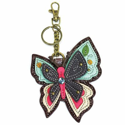 $15.50 • Buy Chala - New Butterfly - Key Fob / Coin Purse