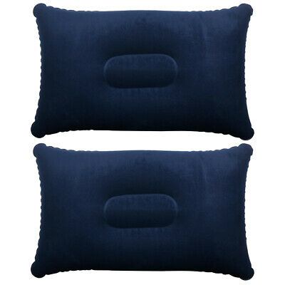 AU9 • Buy TRIXES 2 X Blue Inflatable Soft Blow-Up Travel Pillow-