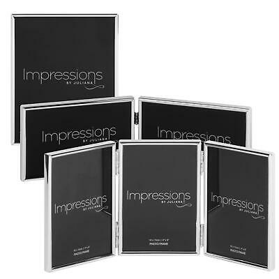 £11.07 • Buy Impressions By Juliana Thin Bezel Silverplated Photo Frame Picture Multi-Size