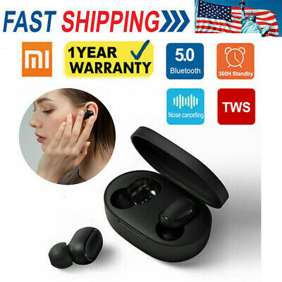 $25.99 • Buy Original Headset Bluetooth 5.0 Xiaomi Redmi TWS Airdots Headphone Stereo Earbuds