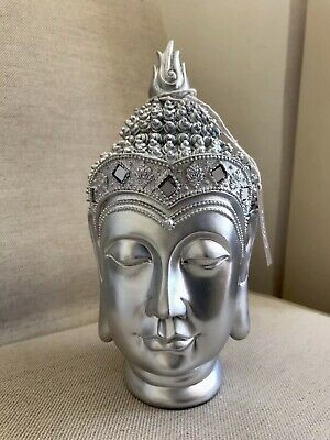 Divine Thai Buddhas Head Statue, Unique From Sius • 19£