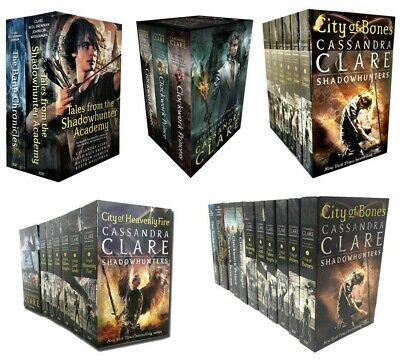 Cassandra Clare Series Books Collection Set Mortal Instruments Infernal Devices  • 16.99£
