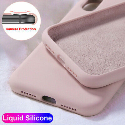 $ CDN3.55 • Buy For Samsung S21 S20 Plus Note20 Ultra S10E S9 S8 Liquid Silicone Soft Case Cover