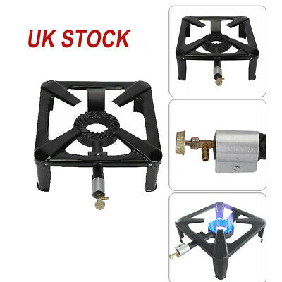 £20.69 • Buy New Cast Iron Large Gas LPG Burner Cooker Gas Boiling Ring Restaurant Catering