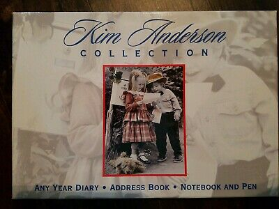 £18.09 • Buy Kim Anderson Collection Any Year Diary Address Book Notebook & Pen Desk Gift Set