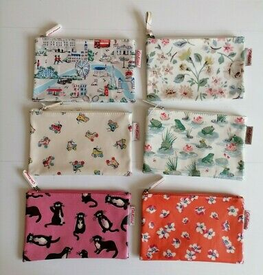 £9.50 • Buy Cath Kidston Oil Cloth Zip Purse / Make Up Bag / Cosmetic Pouch / Pencil Case