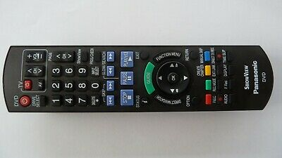 AU49.50 • Buy N2QAYB000128 GENUINE PANASONIC DVD HDD Digital Video Recorder REMOTE CONTROL
