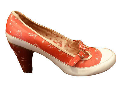 AU29.50 • Buy Kickers-T-Bar Dolly Fifties Pump Shoe-Size 38