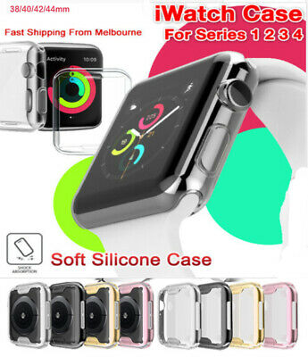 $ CDN3.53 • Buy Ull Cover TPU Case IWatch Screen Protector For Apple Watch Series 4 3/ 2 / 1 CA