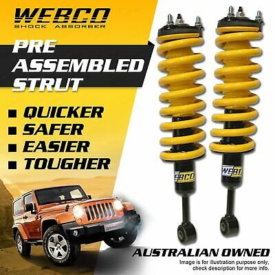 AU460 • Buy Front 50mm Lift Kit Webco Complete Strut For MITSBISHI TRITON ML-MN 2005-2015