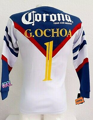 Club America Memo Ochoa Retro Jersey Aguilas Campeon Vintage Liga MX Collection • 74.99$