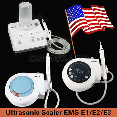 $189 • Buy Dental Ultrasonic Piezo Scaler Fit EMS WOODPECKER Teeth Cleaner E1(Auto)/E2/E3