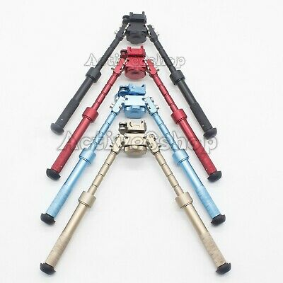 Hight Quality 6-9 Inch Atlas Style Bipod QD Pivot Rotating CNC Anodized 4Color • 37.66$