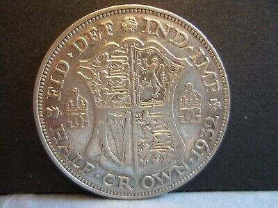 Half Crown 50% SILVER GEORGE V Choose Year 1920-1935 F To VF Condition!  • 10£