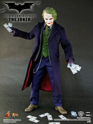 $ CDN397.68 • Buy Sideshow Hot Toys MMS68 Heath Ledger Joker The Dark Knight MIB Batman Bale