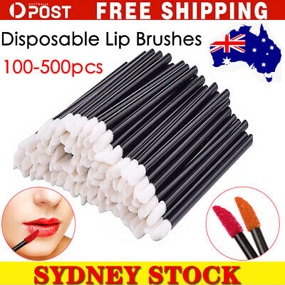 AU6.99 • Buy 200/500/1000 Lip Gloss Brush Disposable Wands Lipstick Eyelash Extension Removal