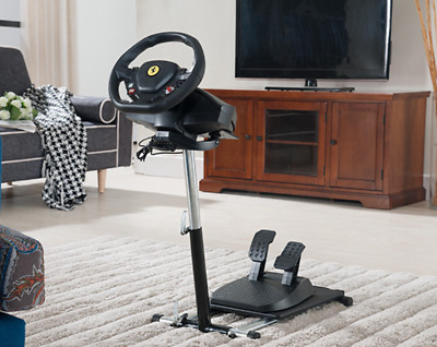 $99.90 • Buy Adjustable Gaming Steering Wheel Stand For Xbox One, PS4, And PC Folding Sturdy
