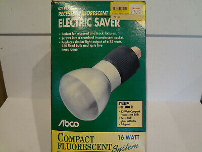 Electric Saver #07410 Recessed Compact Fluorescent 16W • 4.63£