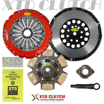 $222.95 • Buy Xtd Pro Stage 3 Miba Clutch & Flywheel Kit Fits 2003-2008 Tiburon 2.7l (sprung)