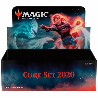 AU150.95 • Buy Magic The Gathering MTG Core 2020 Booster Box W/ 36 Booster Packs