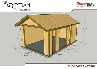£250 • Buy Structually Insulated Panels (SIP's) DIY Designs/Drawings