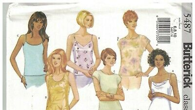 ca6896b60 5487 Vintage Butterick SEWING Pattern Misses Pullover Top Easy Classics  Fast Oop • 4.89$