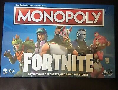 $12.99 • Buy Monopoly: Fortnite Edition Board Game Inspired By Fortnite New Sealed