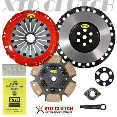 $167.15 • Buy Xtd Stage 3 Clutch + Lighten Flywheel Kit Fits 00-08 Tiburon Elantra Spectra