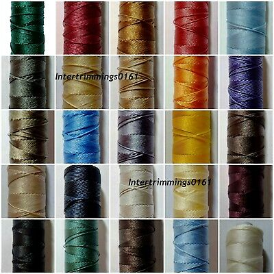 £4.99 • Buy Strong Bonded Nylon Thread 20's, 100mtrs, Ipcabond, Assorted Colours