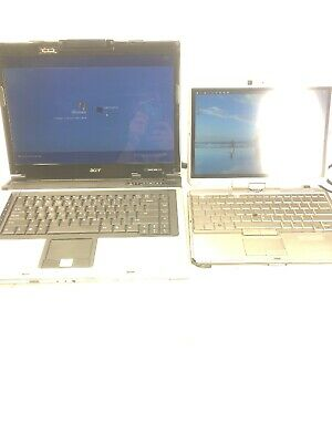 $ CDN133.98 • Buy Lot Of 2 Laptops HP Elitebook 2740p Acer Aspire 5670 With AC Adapters Powers Up