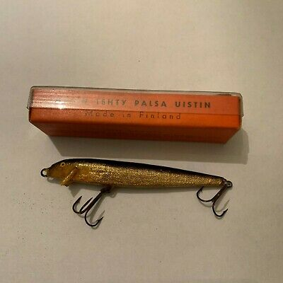 $ CDN16.31 • Buy Vintage Palsa Floating Minnow Fishing Lure With Box L Made In Finland