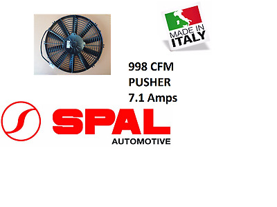 AU169.95 • Buy For Spal 13  Thermo Fan Straight Blade 12v Pusher 998  CFM Low Profile 13 Inch