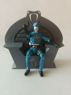 $ CDN16.31 • Buy Gi Joe Cobra Commander Serpentor Throne Custom Made 1/18 Scale. 3d Printed.