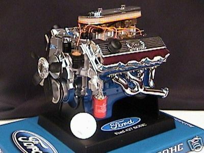 AU50.55 • Buy FORD 1964 427 SOHC Engine Die-cast Hemi Cammer HP 64 Liberty Classics 1:6 Scale