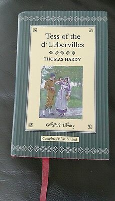 Tess Of The D'Urbavilles By Thomas Hardy Collector's Library Hardback • 3.95£