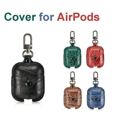 $ CDN16.49 • Buy For Apple AirPods Earphones Charger Case Cover Protective With Carabiner CA