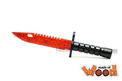 $ CDN20.07 • Buy CS:GO Wooden Knife M9 Bayonet Crimson Web 11-109