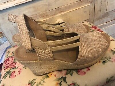 Hotter Wedges 5.1/2 Cushioned, No Box, Velcro Fastening Ankle Strap. • 13£