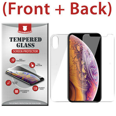 AU3.66 • Buy Front + Back Full Body Tempered Glass Screen Protector For IPhone X XR X XS MAX