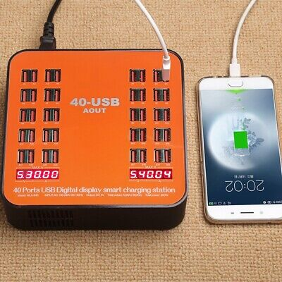AU59.99 • Buy 200W 40 Multi Port USB Hub Charger Charging Dock Station For IPhone IPad Samsung