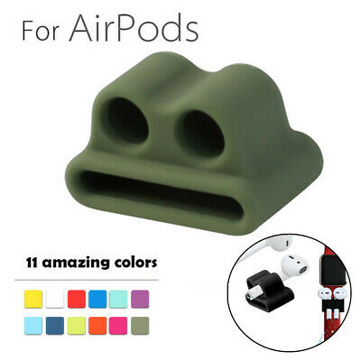 $ CDN8.49 • Buy Anti-lost Strap Silicone Case Cover Skin Holder For Apple AirPods & Accessories