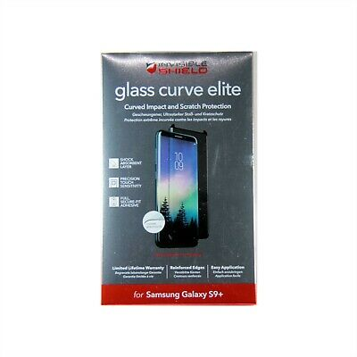 AU39.95 • Buy Zagg Invisible Shield Fr Samsung Galaxy S9+ Glass Curve Elite Tempered 200101468