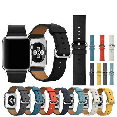 $ CDN21.99 • Buy New Single Tour Leather Band Bracelet Watchband For Apple Watch Series 3 Popular