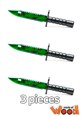 $ CDN46.85 • Buy CS:GO Wooden Knife M9 Bayonet Zombie Hunter (3 Pieces) 14-104