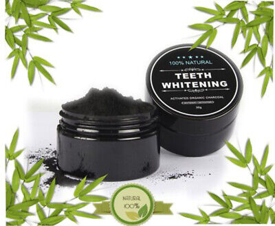 AU4.19 • Buy Activated Charcoal Powder Natural Organic Black Teeth Whitening Toothpaste NEW