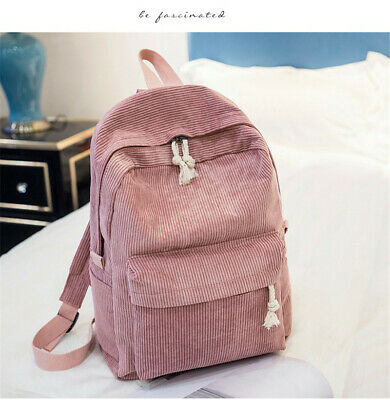 AU20.04 • Buy Lady Campus Student Rucksack Girl's Velour Backpack Schoolbag Knapsack Backpacks