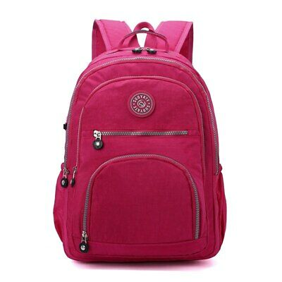AU35.83 • Buy School Laptop Bagpack Women's Backpack Girl Travel Backpack Teenage Female Nylon